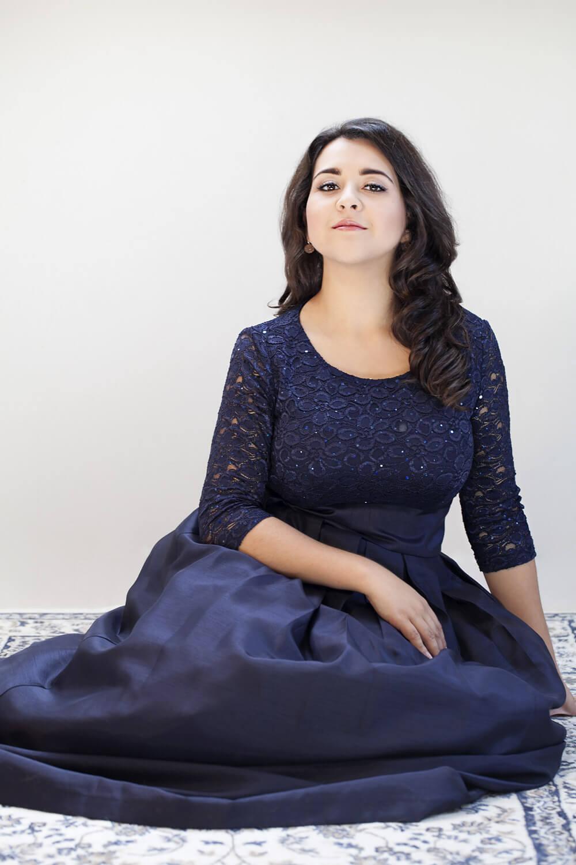 Adriana Gonzalez / Portrait @ Marine Cessat-Bégler