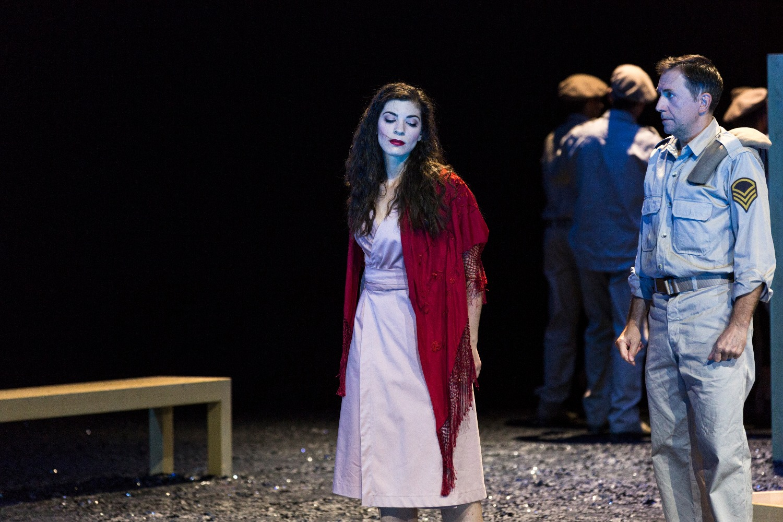 Héloïse Mas / Carmen / Grand Théâtre de Genève © Magali Dougados