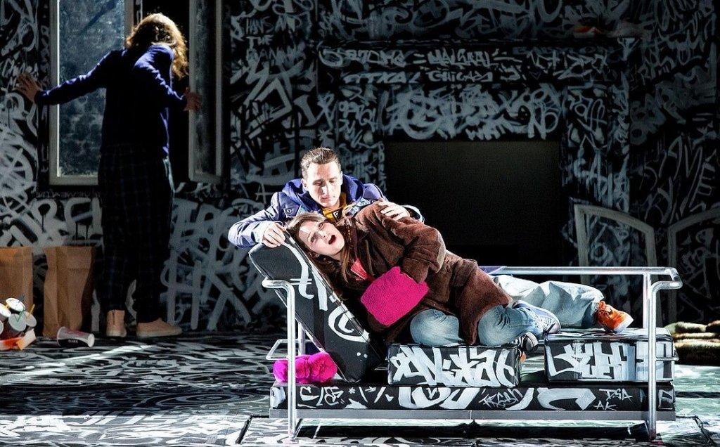 Camille Schnoor / Mimì / La Bohème / Staatstheater am Gärtnerplatz Munich © Marie-Laure Briane
