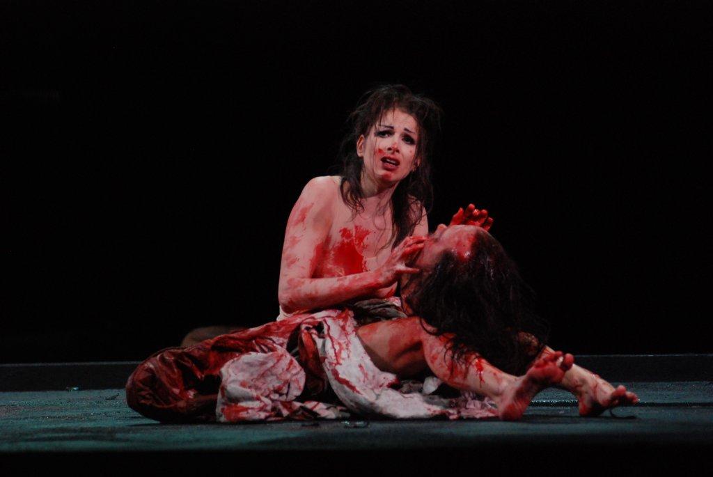 Nicola Beller Carbone dans Salomé / Grand Théâtre de Genève ©Detlef Kurth