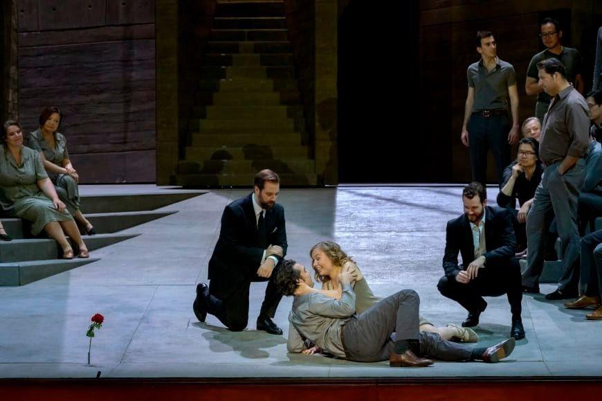 Mikhail Timoshenko / Don Giovanni / Masetto / Opéra de Paris © Charles Duprat