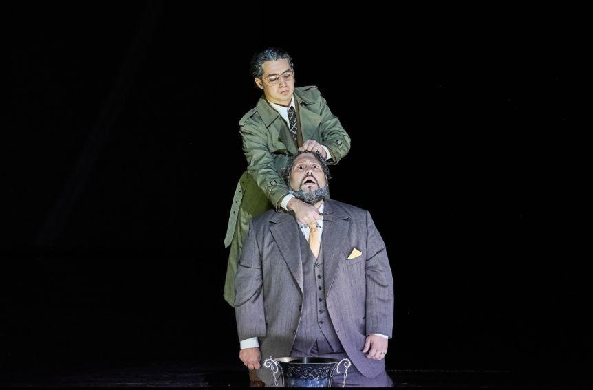 Mikhail Timoshenko / Simon Boccanegra / Pietro / Opéra de Paris © Agathe Poupeney
