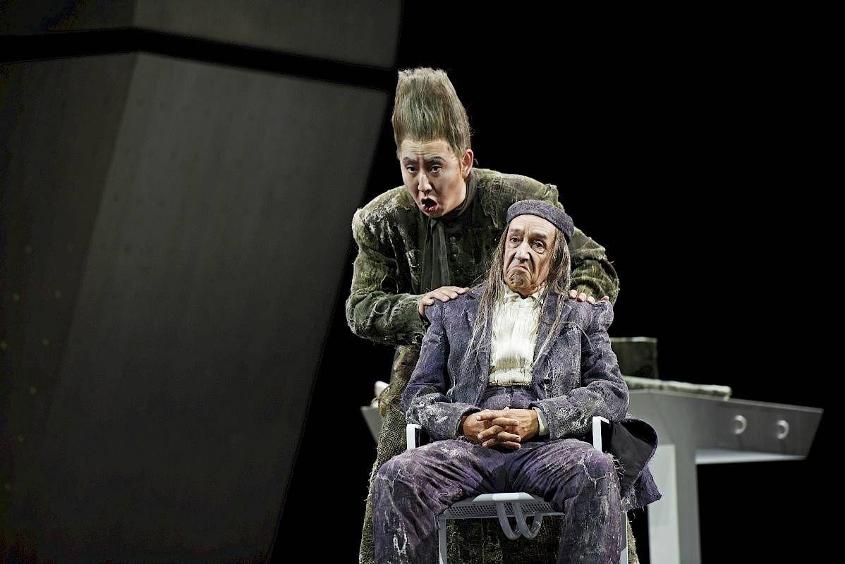 Wenwei Zhang / Il barbiere di Siviglia / Basilio / Opernhaus Zürich © T+T Fotografie