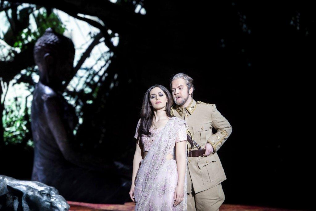 Ruzan Mantashyan / Mahamaya / Poro / Komische Oper Berlin © Monika Rittershaus