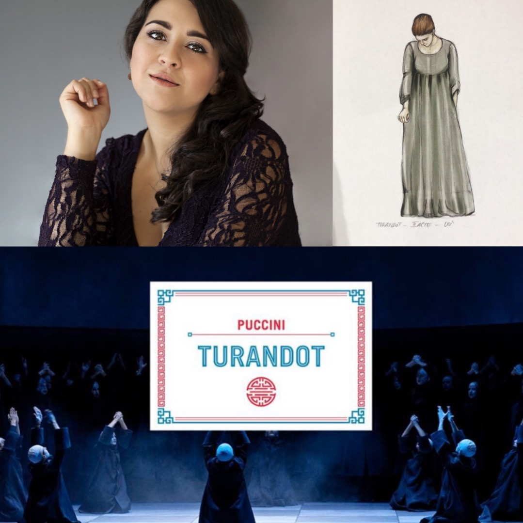 ADRIANA GONZALEZ Debut as Liù in Turandot in Toulon
