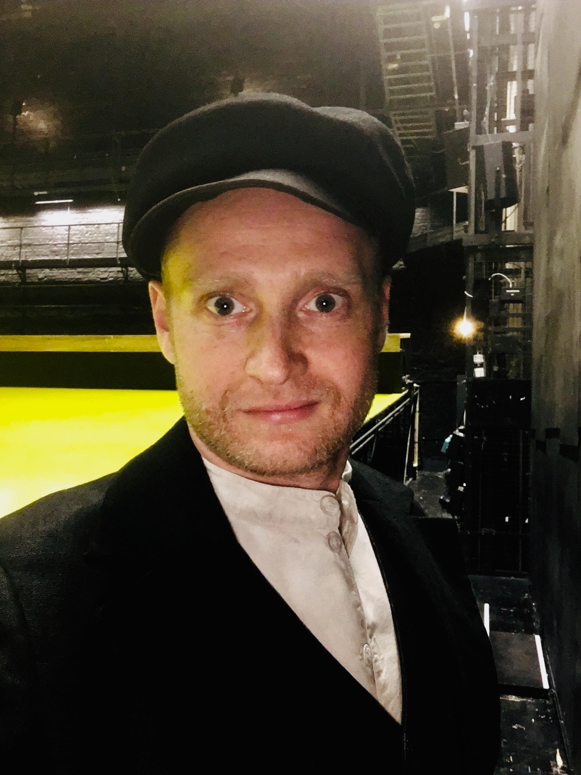 OLEKSIY PALCHYKOV est Grizko dans Der Jahrmarkt von Sorotschinzi au KO Berlin