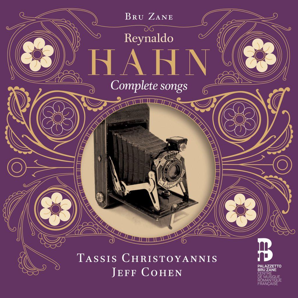 TASSIS CHRISTOYANNIS CD Release Hahn's Complete Mélodies