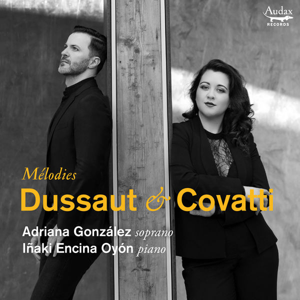 ADRIANA GONZALEZ CD Mélodies Dussaut & Covatti